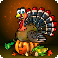 Free online flash games - Thanksgiving Party House Escape 2018 game - WowEscape