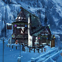 Free online flash games - Ena The Frozen Sleigh-Sleeping Orc Escape game - WowEscape