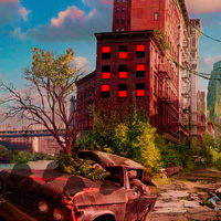 Free online flash games - Big Abandoned City Escape game - WowEscape