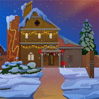Free online flash games -  Liberation Of Santa game - WowEscape