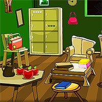 Free online flash games - Old Green Room Escape game - WowEscape
