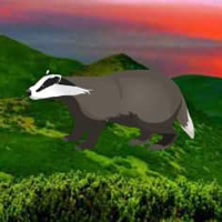 Free online flash games - Badger Mountain Escape HTML5