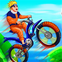 Free online flash games - Naruto Bmx Challenge game - WowEscape