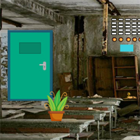 Free online flash games - GFG Abandoned Classroom Escape game - WowEscape