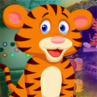 Free online flash games - G4k Weary Tiger Rescue