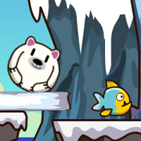 Free online flash games - Polar Bears Love Fish game - WowEscape
