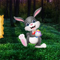 Free online html5 games - Easter Bunny Forest Escape game