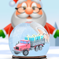 Free online flash games - Santa's Toy Parking Mania game - WowEscape