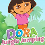Free online flash games - Dora Jungle Jumping game - WowEscape