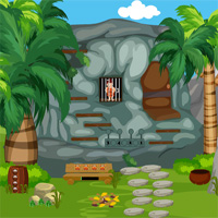Free online flash games - Games4King Cavemen Rescue game2rule