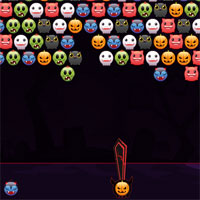 Free online flash games - Bubble Hit Halloween game - WowEscape
