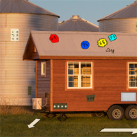 Free online flash games - GenieFunGames Tiny House Rescue 2 game - WowEscape