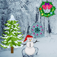 Free online flash games - Wowescape Find the Christmas Card game - WowEscape