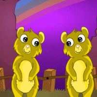 Free online html5 games - G2M Rescue The Lazy Bear game