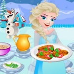 Free online flash games - Elsa Batter Fried Fish game - WowEscape