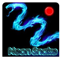 Free online html5 games - Neon snake game