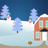 Free online flash games - AvmGames Christmas Baby Angel Escape game - WowEscape