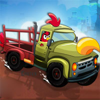 Free online flash games - Angry Birds Eggs Transport game - WowEscape