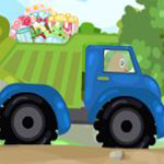 Free online flash games - Pou Truck Delivery game - WowEscape