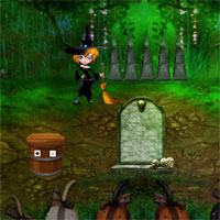Free online flash games - Amgel Green Witch Escape game - WowEscape