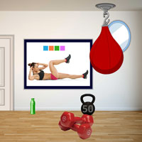 Free online flash games - Fitness Center Escape game - WowEscape