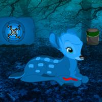 Free online flash games - Blue Diamond Forest Escape game - WowEscape