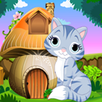 Free online flash games - Cute Cat Rescue Games4King game - WowEscape