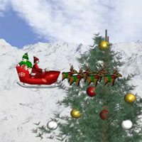 Free online flash games - Santas Delivery Christmas game - WowEscape