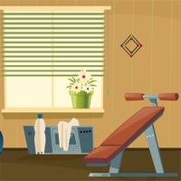 Free online flash games - Home Gym Escape game - WowEscape