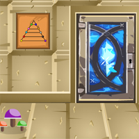 Free online flash games - GenieFunGames Diamond Door Escape game - WowEscape