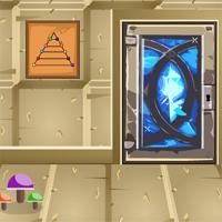 Free online flash games - GenieFunGames Diamond Door Escape game - WowEscape