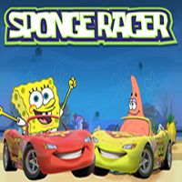 Free online flash games - Sponge Racer game - WowEscape