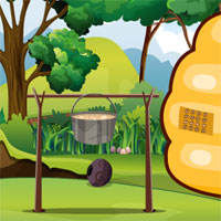 Free online flash games - GFG Queen Bee Rescue game - WowEscape