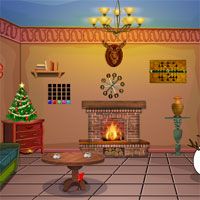 Free online flash games - Top10 Christmas Find The Scarf game - WowEscape