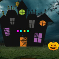 Free online flash games - Games2Jolly 2018 Happy Halloween Escape game - WowEscape