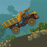 Free online flash games - Mining Truck game - WowEscape
