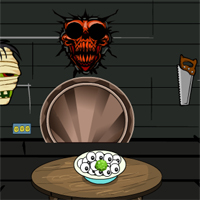 Free online flash games - GenieFunGames Scary House Escape game - WowEscape