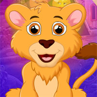 Free online flash games - G4k Majestic Lion Rescue game - WowEscape
