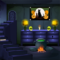 Free online flash games - MirchiGames Find Spooky Treasure game - WowEscape