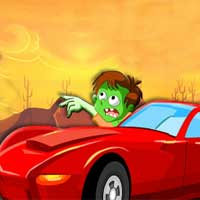 Free online flash games - Zombie Car Race Y8bob game - WowEscape