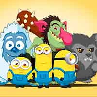 Free online flash games - Minions Hunt Monsters game - WowEscape