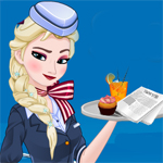 Free online flash games - Stewardess Elsa game - WowEscape
