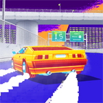 Free online flash games - Retro Racers 3D game - WowEscape