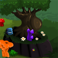 Free online flash games - MirchiGames Hidden Forest Escape game - WowEscape