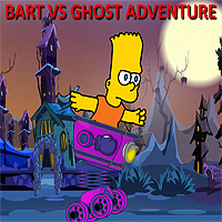 Free online flash games - Bart vs Ghost Adventure game - WowEscape