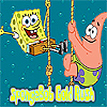 Free online flash games - SpongeBob Gold Rush game - WowEscape