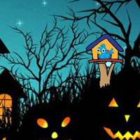 Free online flash games - G2J 2020 Halloween Escape