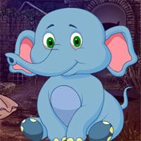 Free online flash games - G4K Sitting Elephant Escape  game - WowEscape