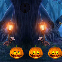 Free online flash games - 8BGames Halloween Treehouse Escape game - WowEscape