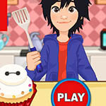 Free online flash games - Cute Baymax Cupcake game - WowEscape